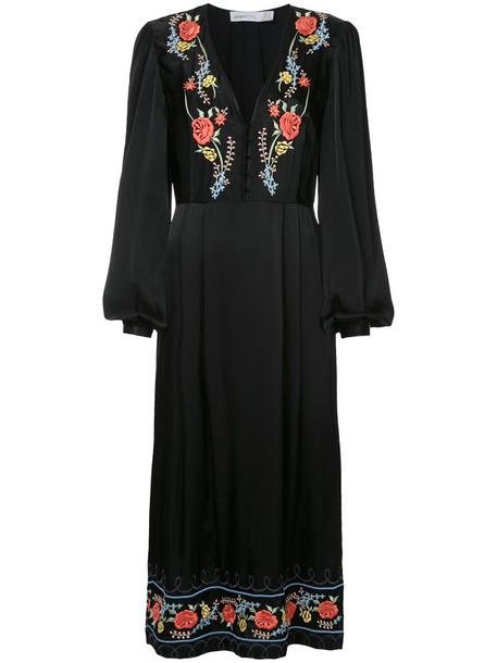 Alice McCall dress women black roses