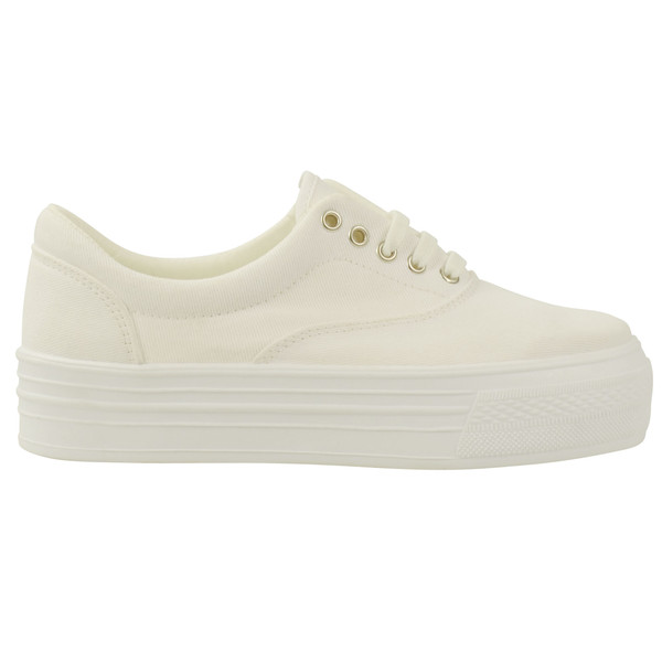 shoes white vans plateau