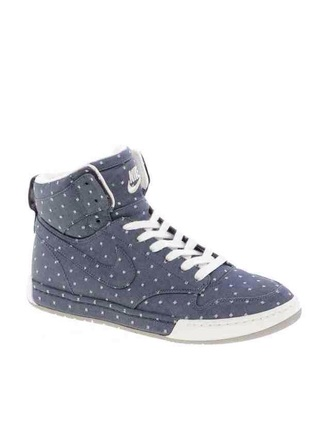 shoes nike polka dots