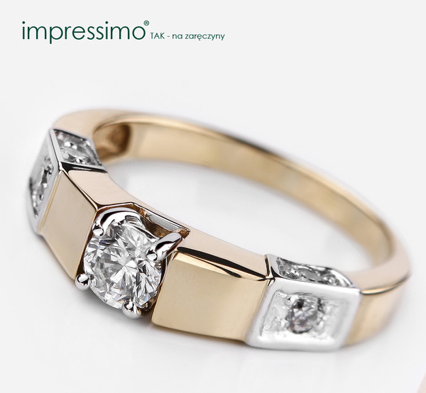 jewels diamonds diamonds pierścionek impressimo pierścionek z brylantem wedding ring