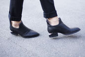 boots,leather,alexander wang,shoes