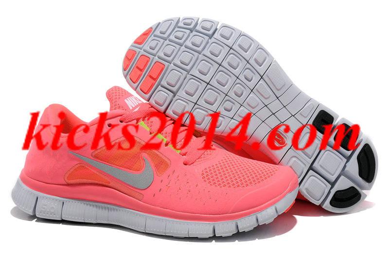 nike free run pink 39