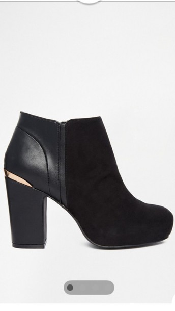 shoes ankle boots black river island shoes
