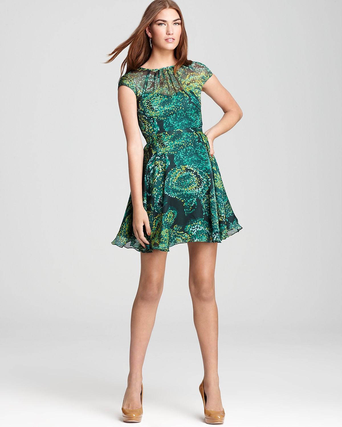 Where To Buy Shoshanna Dresses Shoshanna Printed Dress