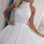 Sleeveless High Neck Homecoming Dress,Short White Appliqued Beaded Tulle Prom Gowns · lightdress