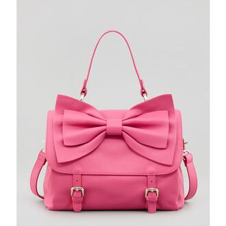 bag pink bag bows
