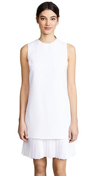 dress shift dress white