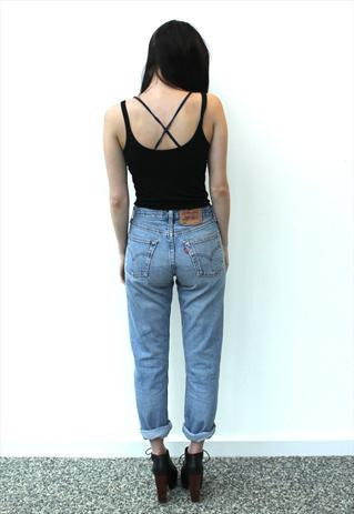 Vintage levi's high waisted jean – queendenim
