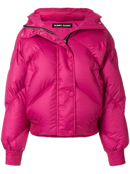 Ienki Ienki jacket women cotton purple pink