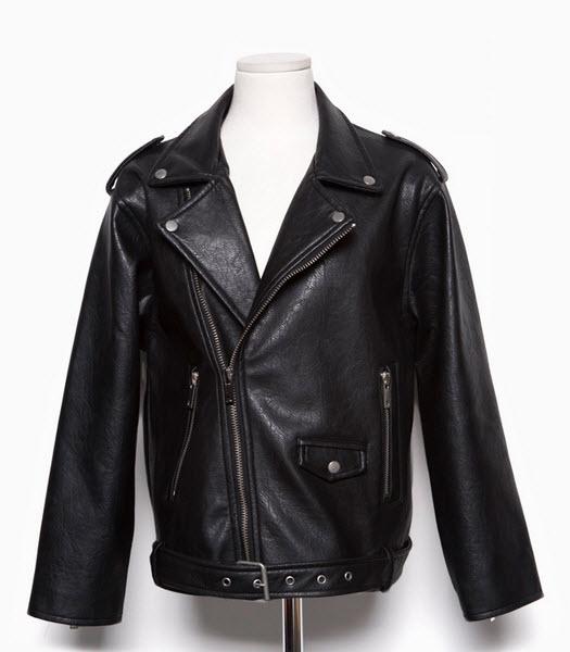Leather jacket - Cali - Leather jackets - Jackets & Outerwear - Women - Modekungen