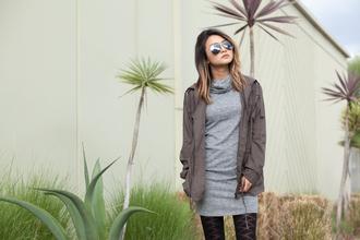atsuna matsui atsuna matsui » blogger jacket dress tights shoes