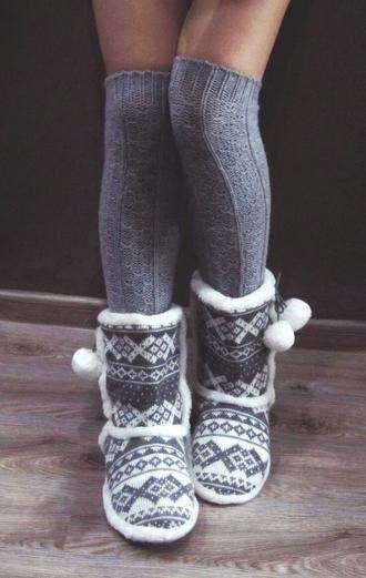 shoes comfy boots knitwear kneehighsocks