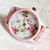 Pretty in Pink Floral Watch, Women Watches, Fashion Watch, Boyfriend watch, Limited