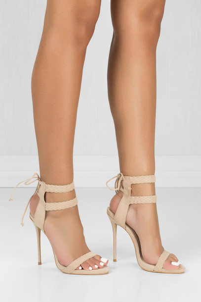 strappy booties open toe