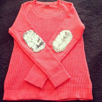 sparkly glitter elbow patches