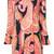 Trina Turk - frill sleeve cold shoulder dress - women - Polyester/Spandex/Elastane - L, Polyester/Spandex/Elastane