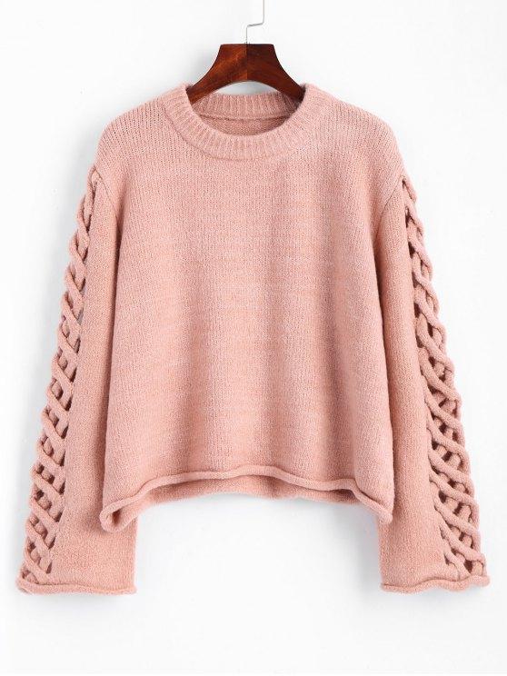 Oversized Sleeve Pullover Sweater