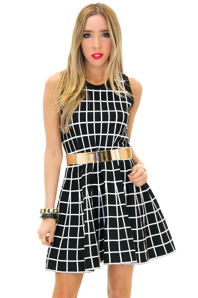 Adelle striped dress | haute & rebellious