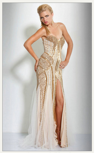 dress gold sequins sequins prom dress cream sparkling dress