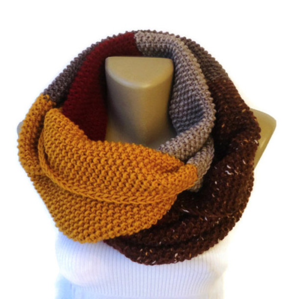 scarf gift guide 2014 dr who scarf chunky infinity scarf scarve scarf winter outfits winter outfits winter fashion scarf gift scarfs eternity scarf women scarf outfit outerwear valentine knitwear knitted scarf dr who