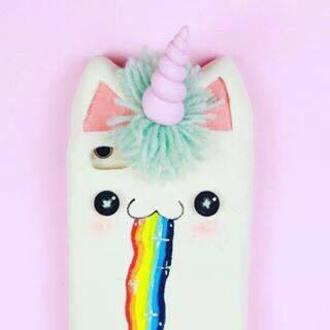 phone cover unicorn rainbow iphone case