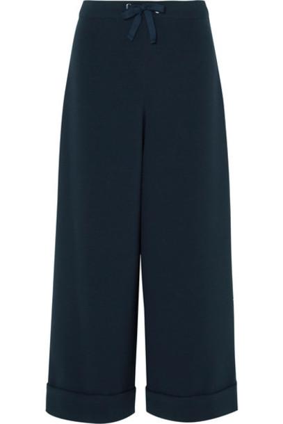 A.P.C. Atelier de Production et de Création pants wide-leg pants blue