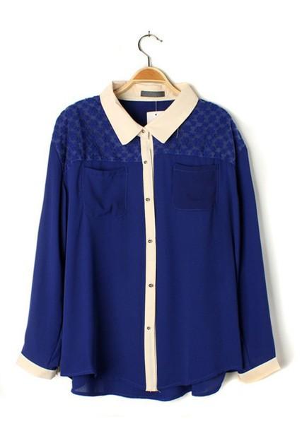 blouse waynasia bennett blue blouse
