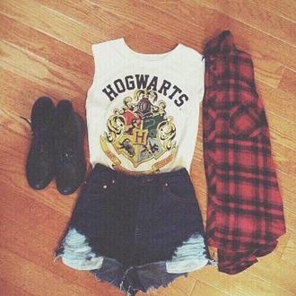 tank top harry potter shorts grunge babe tanktops t-shirt fashion teenagers leggings shoes