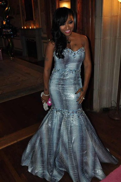 dress mermaid prom dress toya wright