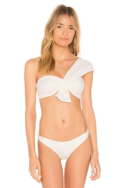 marysia swim top white