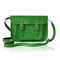Classic green leather satchel - cambridge satchel company