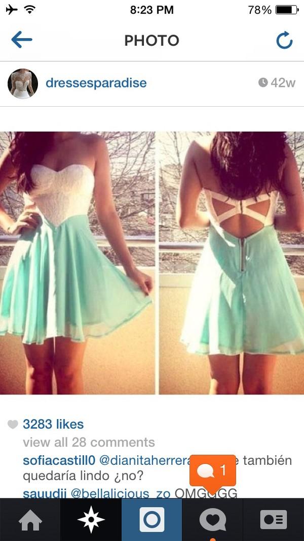 turquise white sweetheart dress blue dress dress white dress