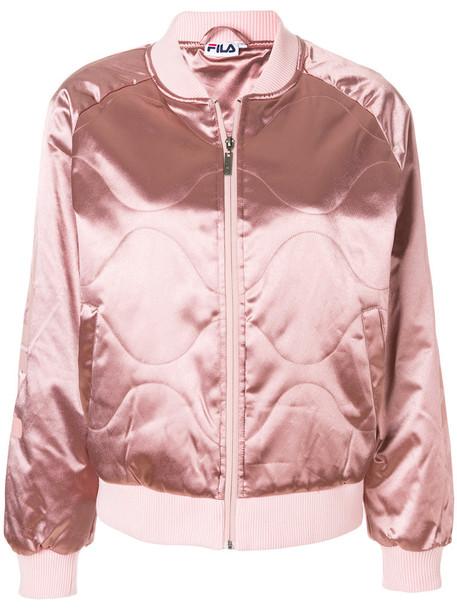 fila jacket bomber jacket women quilted