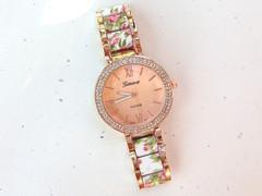 Tone crystal watch