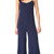 Theory Binx Jumpsuit - Deep Navy