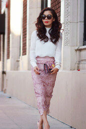hallie daily,t-shirt,skirt,shoes,bag,jewels