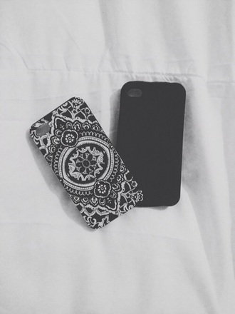 phone cover ipod touch case mandala cover beautiful cover black and white mandala iphone case mandala iphone cover