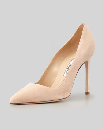 54795d4f446 Manolo Blahnik BB Suede 115mm Pump