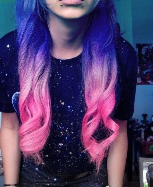 shirt black t-shirt cute stars hair accessory hair chalk