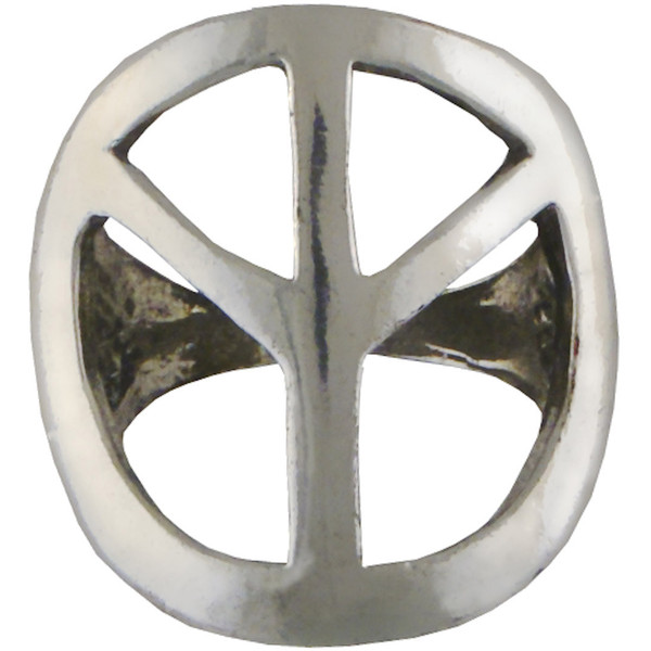 Crafted Organic Peace Ring - Polyvore