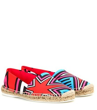 espadrilles satin shoes