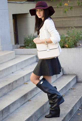 shoes boots high boots black wedges leather leather wedges similar givenchy
