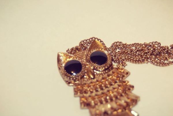 jewels fashion jewellry necklace cutea lovely owl owl necklace cute gold gold style stylish