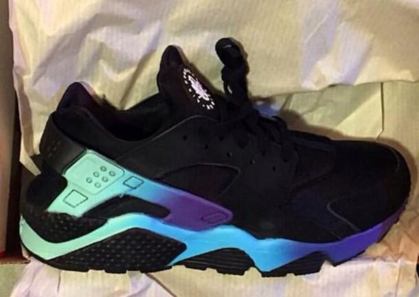 new style a42d4 16a2e shoes ombre nike huarache bllack