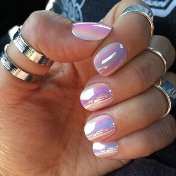 nail polish purple color
