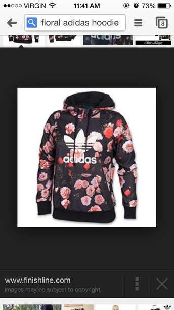 on sale 7282f 83a80 adidas floral hoodie