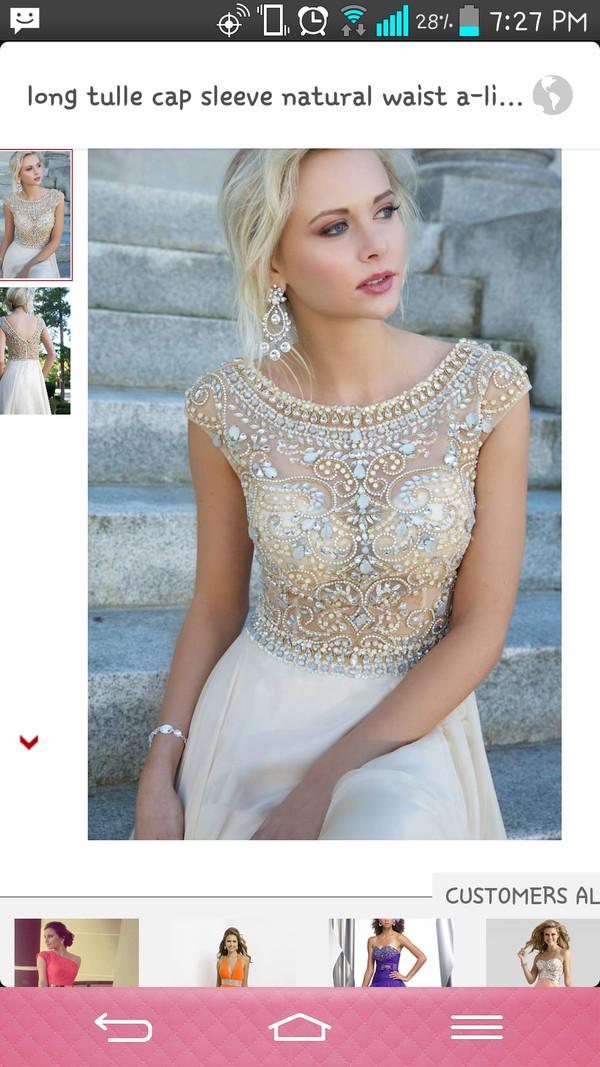 hat prom dress dress jewels