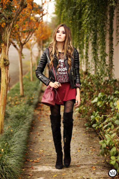 fashion coolture tights jacket shoes top skirt bag underwear