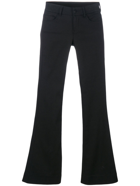 Andrea Ya'aqov basic women spandex cotton black pants