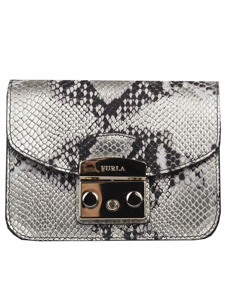 Furla Mini Metropolis Crossbody Bag in metallic